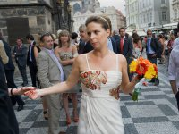 A wedding in the Czech Republic.
